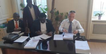 The Government of Liberia through the Liberia Water &Sewer Corporation LWSC) has signed an MOU with two Italian Companies PSC Srl Engineering and Contracting company and EUROGEO SRL to seek grant for Projects implementation.